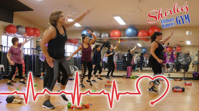 heart health month at Shirlee's Gym in Upland